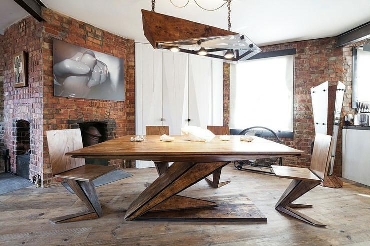 Bel immobilier de luxe au c ur de soho vivons maison - Table de salle a manger carree avec pied central ...