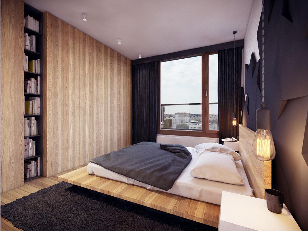 Appartement moderne au design minimaliste et chaleureux for Decoration interieur appartement moderne