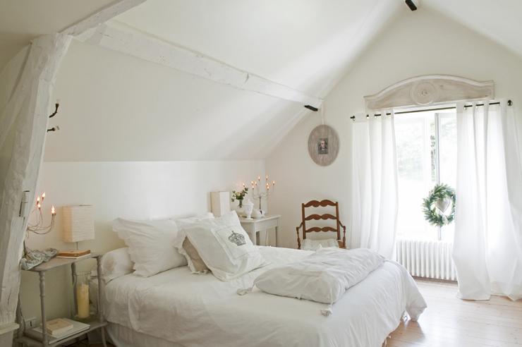Jolie maison de campagne au design romantique en France ...