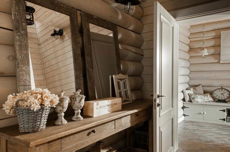 Datcha russe l int rieur accueillant et convivial dans l esprit slave vivons maison for Bois design interieur