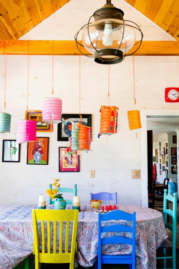 Idee Deco Campagne A Faire Soi Meme intérieur éclectique pour une résidence haut en couleurs