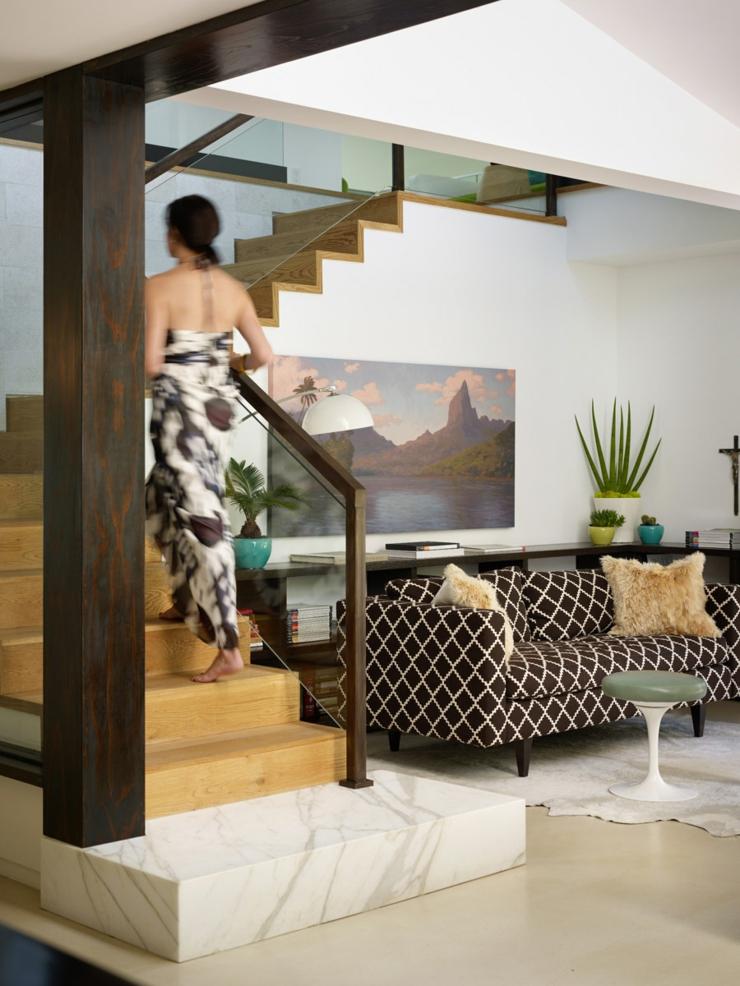 Escalier Interieur Maison Excellent Luxe Intrieur Escaliers En Bois Pour La Conception De La