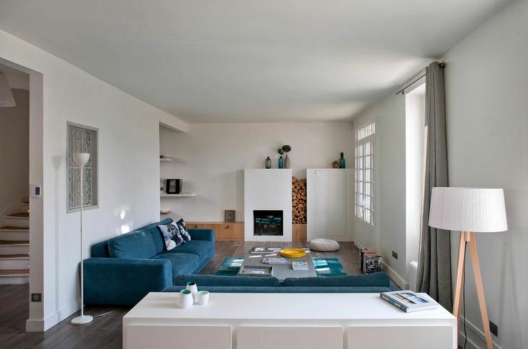 Ancienne maison dans la r gion parisienne totalement r nov e vivons maison for Maison ancienne renovee contemporaine