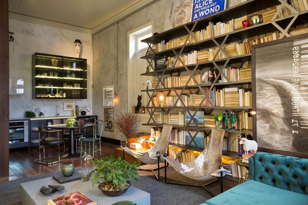 Un int rieur clectique pour la r novation de ce logement for Architecture eclectique
