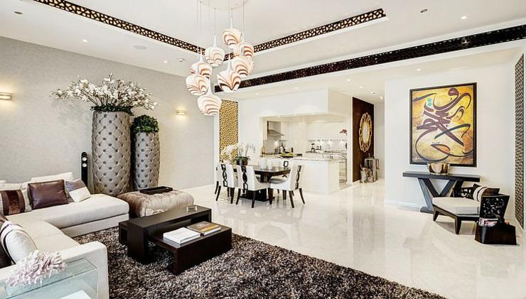 Luxueux appartement avec vue duba vivons maison for Photo appartement design