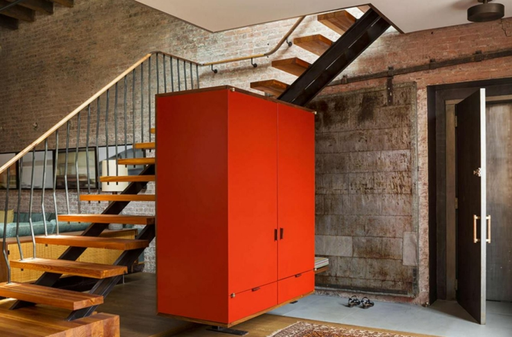 Beau loft industriel manhattan new york vivons maison - Loft industriel design retro rustique ...