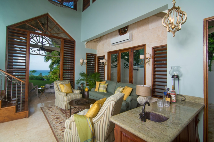 Villa de r ve pineapple tryall en jama que vivons maison - Deco chambre exotique ...