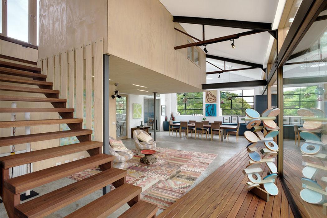 R novation loft projet cr atif et original au centre de for Maison loft atypique