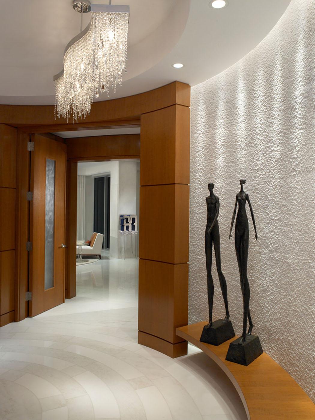 R sidence de vacances luxueuse miami avec splendide vue - Entree appartement design ...