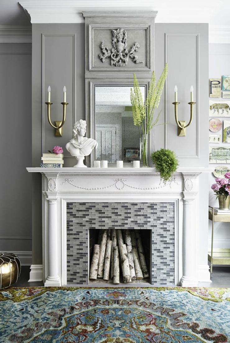 Concours et idées de déco vive la décoration immobilier liste photo fausse cheminée pour