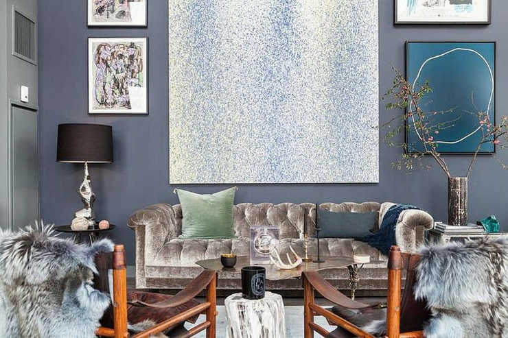 Bel appartement brooklyn au design clectique vivons - Charmant appartement lumineux touches couleurs ...