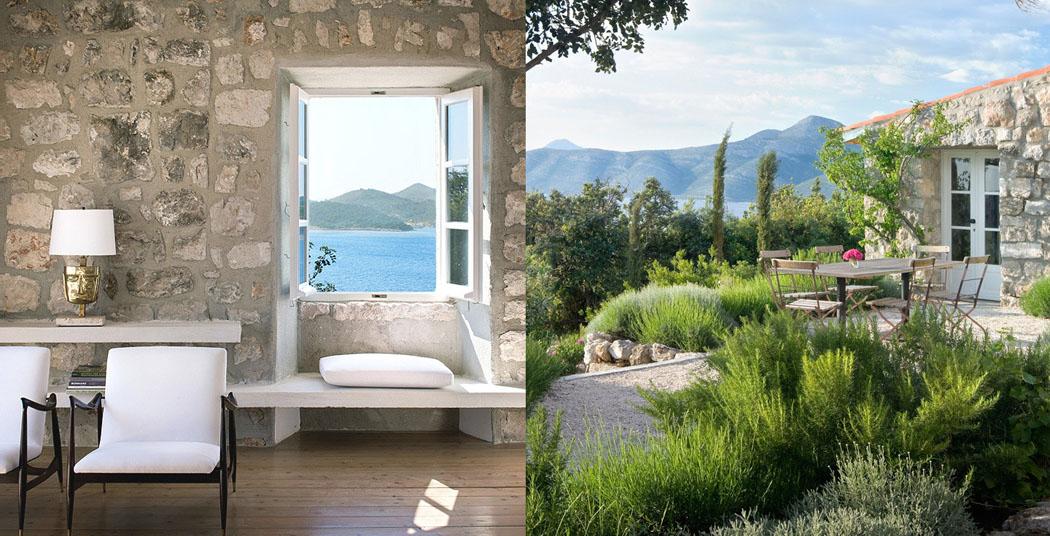 la r sidence de campagne chic et l gante villa san spirito situ e sur la c te croate vivons. Black Bedroom Furniture Sets. Home Design Ideas