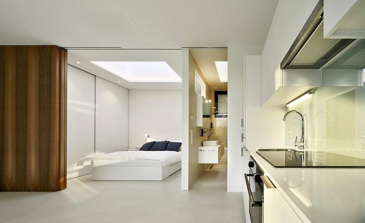 Ameublement intérieur simple et minimaliste