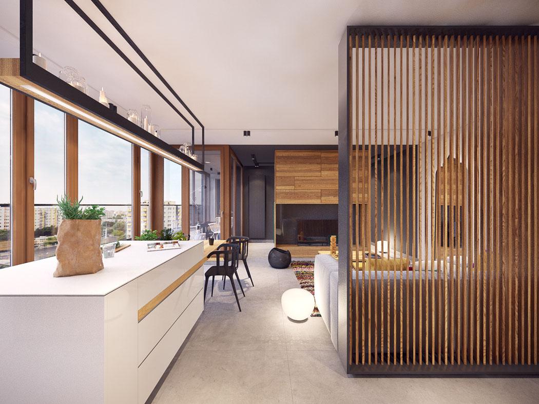 Incroyable Intérieur Moderne Fonctionnel Appartement