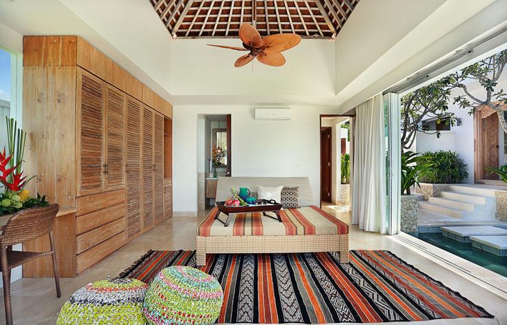 Villa de r ve en indon sie offrant un unique panorama paradisiaque vivons maison - Interieur minimaliste villa de vacances block ...