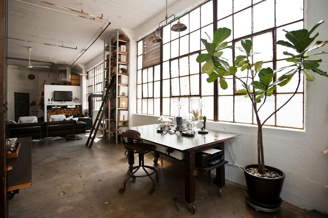 Loft de ville new york au design int rieur inspir par for Interieur loft