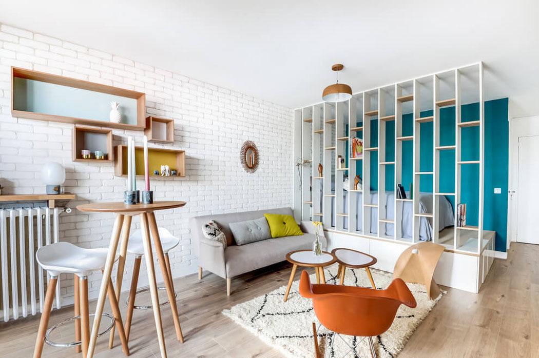 Très Petit appartement après travaux offre un cadre moderne et agréable  VQ06