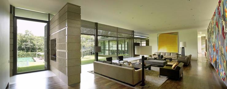Magnifique maison contemporaine singapour vivons maison - Interieur maison contemporaine photos ...