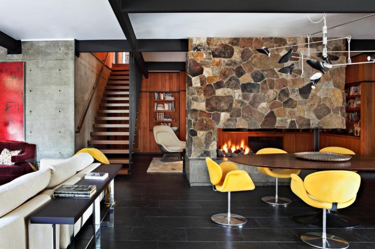 Maison l int rieur clectique sierre madre en - Decoration eclectique maison moderne seattle ...