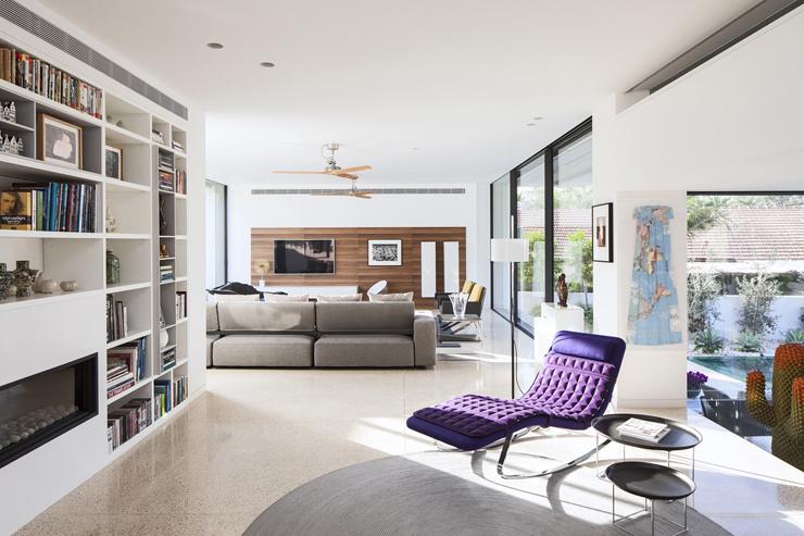 Superbe maison d architecte dans les environs de tel aviv - La demeure moderne gb house par mmeb architects ...