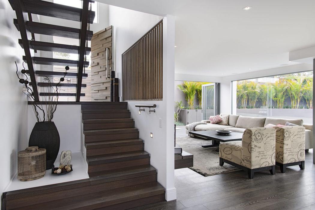 Belle Maison Design Moderne Mi chemin Entre La Ville Et
