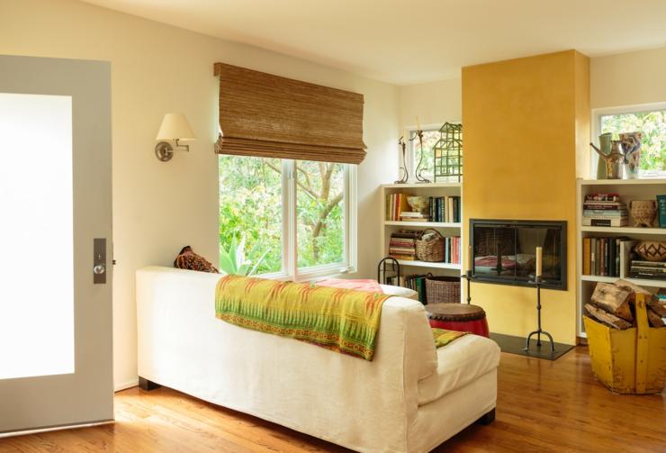 jolie maison de ville la d co chaleureuse los angeles. Black Bedroom Furniture Sets. Home Design Ideas