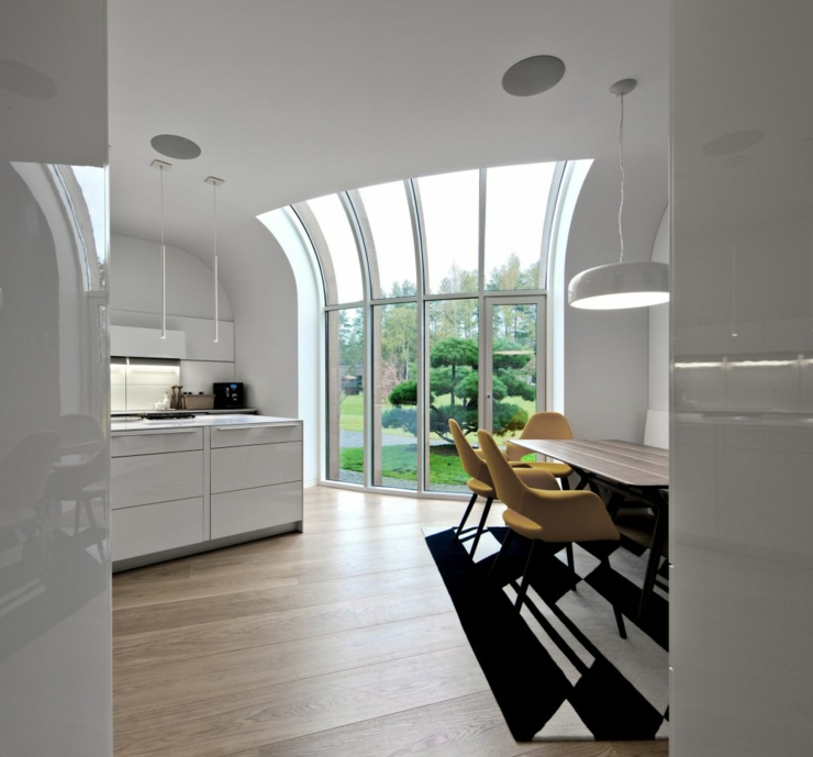 maison plain-pied d'architecte contemporaine