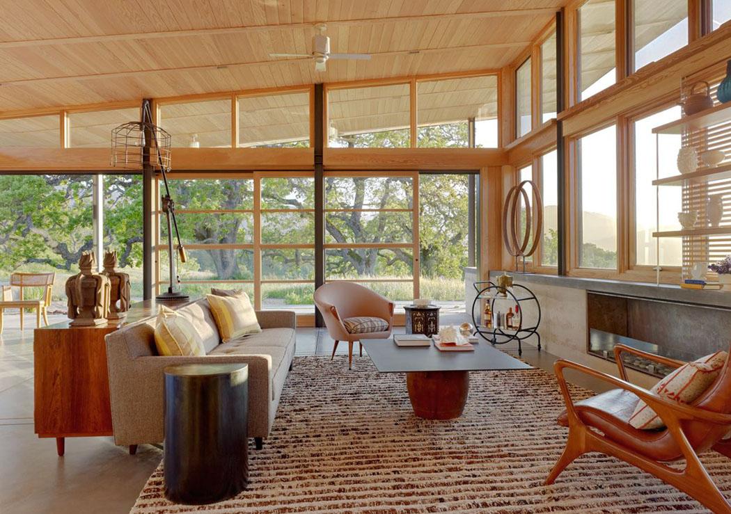 Une moderne maison passive l esprit clectique situ e sur la c te californienne vivons maison - Maison passive design ...