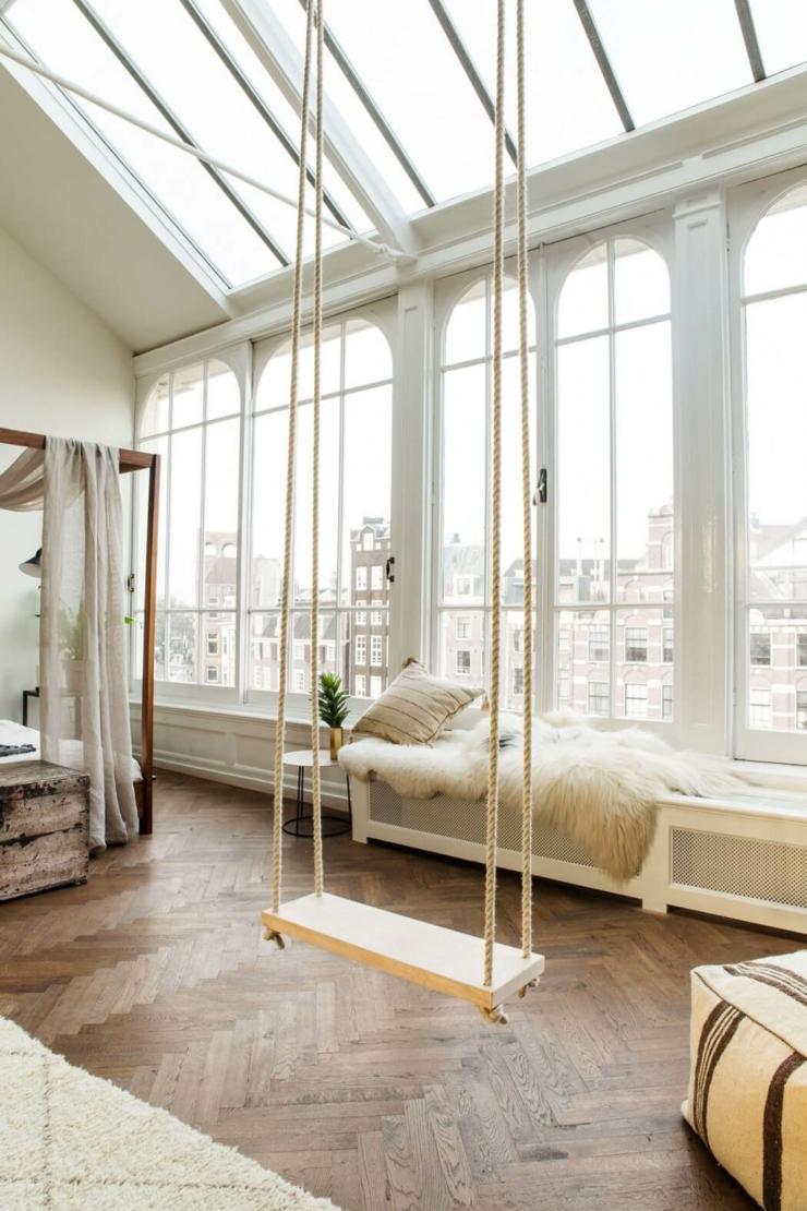 Original projet que ce loft industriel au c ur d amsterdam for Interieur loft