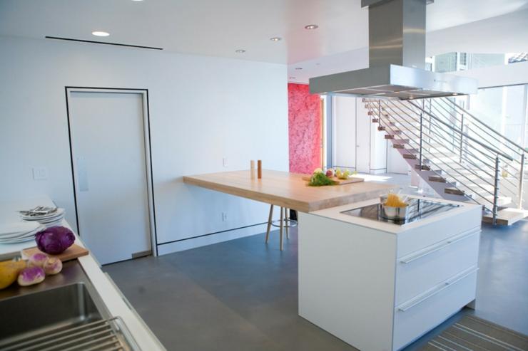 Maison d architecte par dupuis design en californie vivons maison - Interieur maison moderne architecte ...