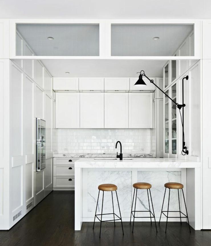 Maison moderne et citadine melbourne vivons maison for Petite cuisine minimaliste