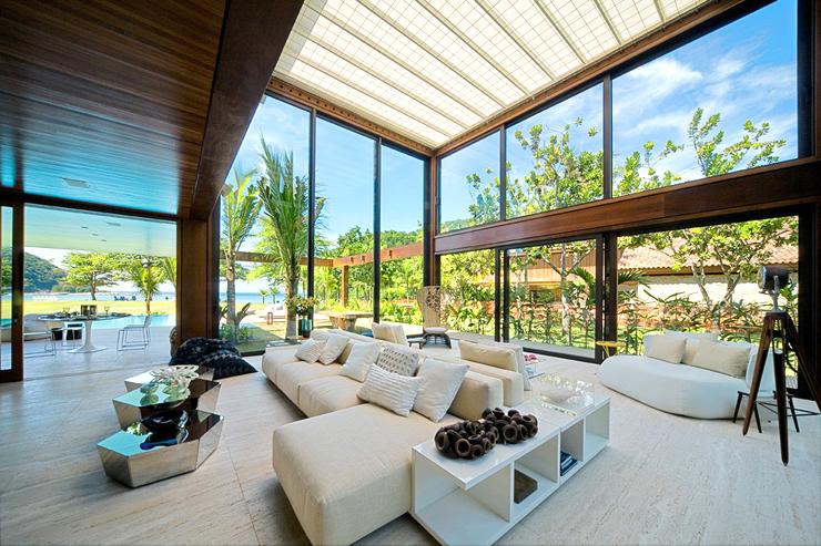 belle maison contemporaine sur la c te br silienne vivons maison. Black Bedroom Furniture Sets. Home Design Ideas