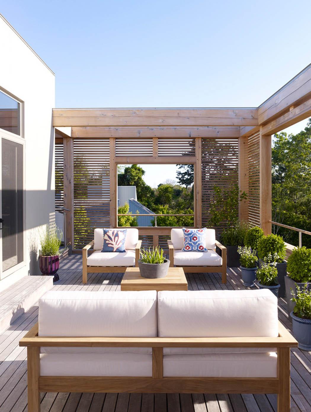 R sidence secondaire moderne au design convivial dans les hamptons long island vivons maison - Residence secondaire austin patterson disston ...