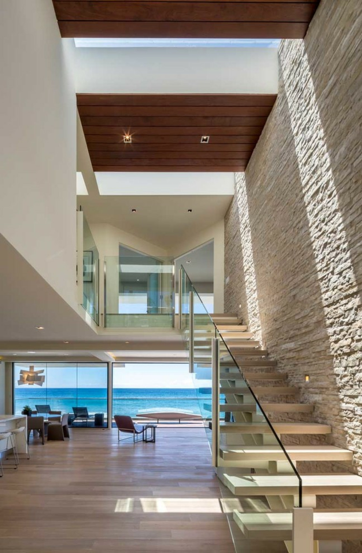 Maison d architecte de prestige malibu californie for Interieur maison d architecte