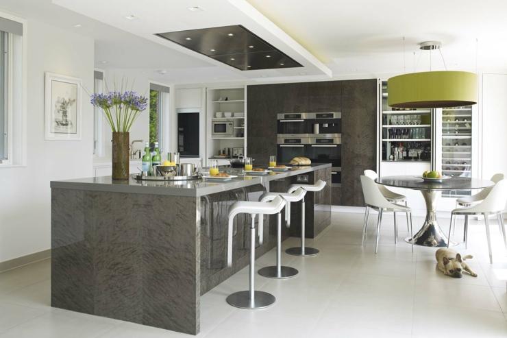 Interieur maison moderne cuisine for Interieur luxe maison