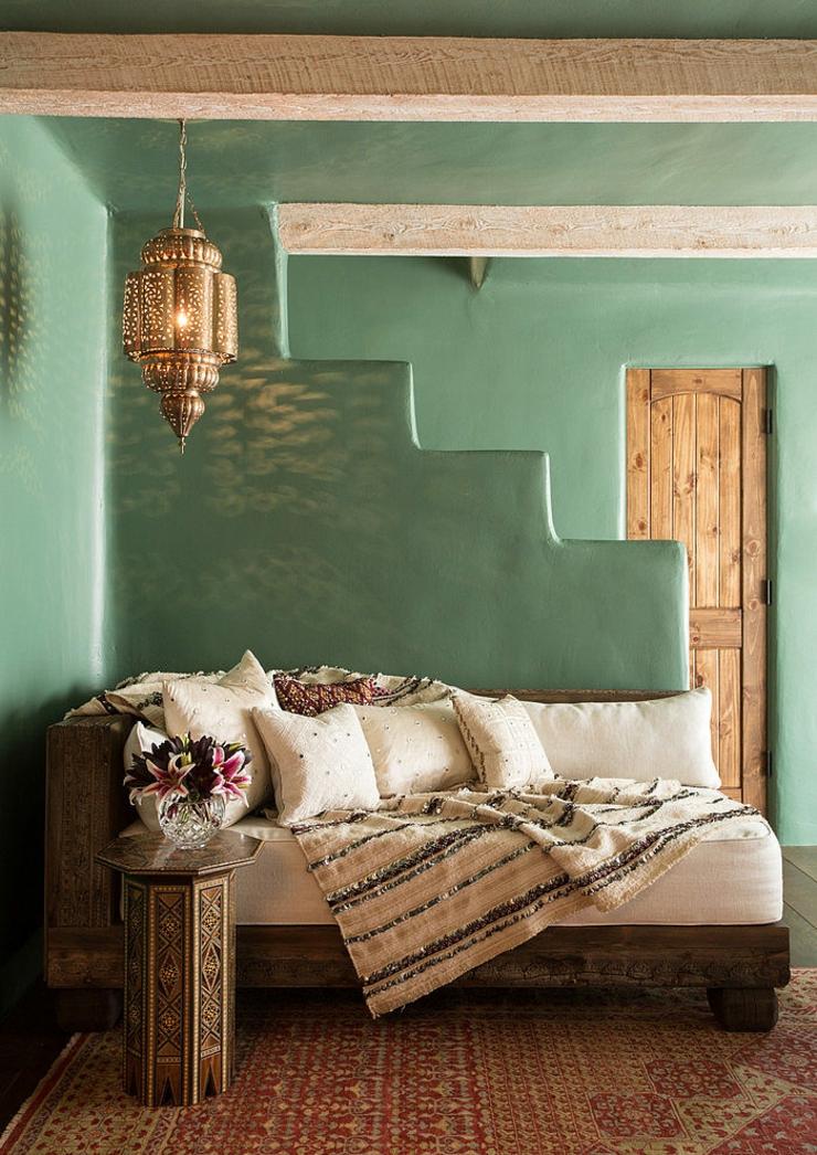 petit coin relaxe de cette maison rustique santa fe design intrieur style mexicain colonial