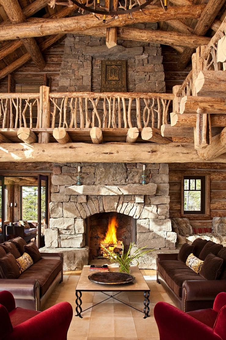 Belle maison de charme construite en bois vivons maison for Interieur maison bois massif