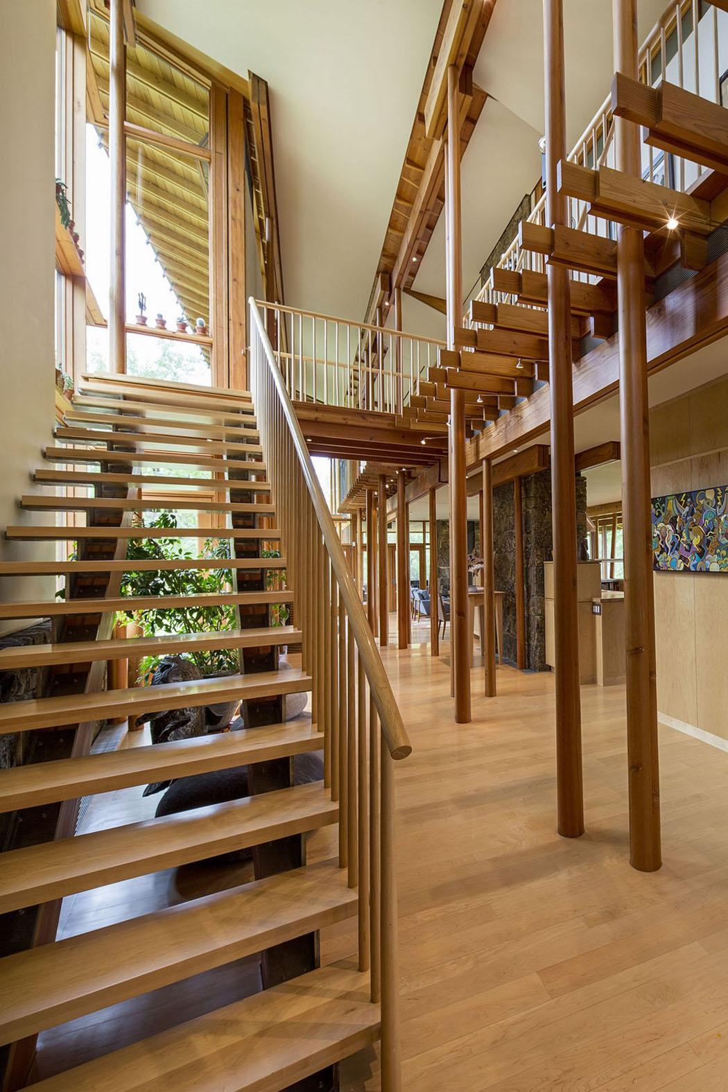 Moderne et accueillante maison en bois au cœur de la montagne de ...