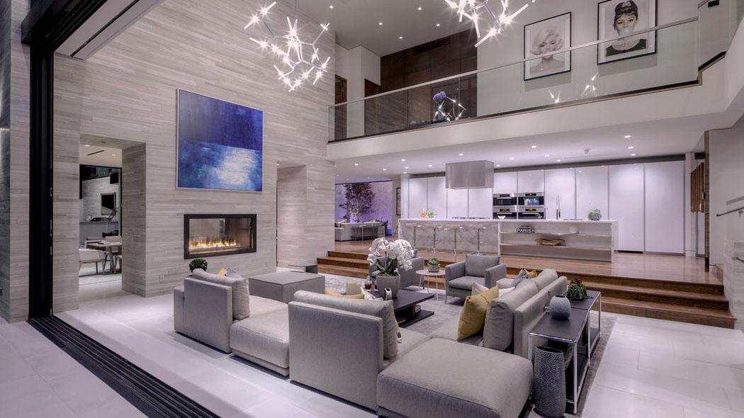 Une propri t de prestige avec vue imprenable sur - Residence de luxe interieur design montya ...