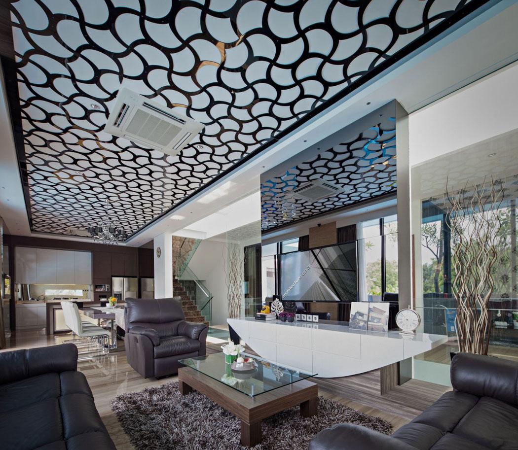 Maison moderne l architecture contemporaine au c ur de - La demeure moderne gb house par mmeb architects ...