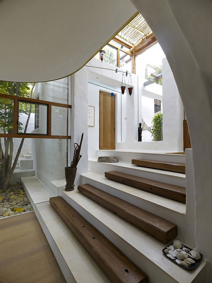 Villa de luxe coogee sur la c te australienne vivons maison - Decoratie interieur bois ...