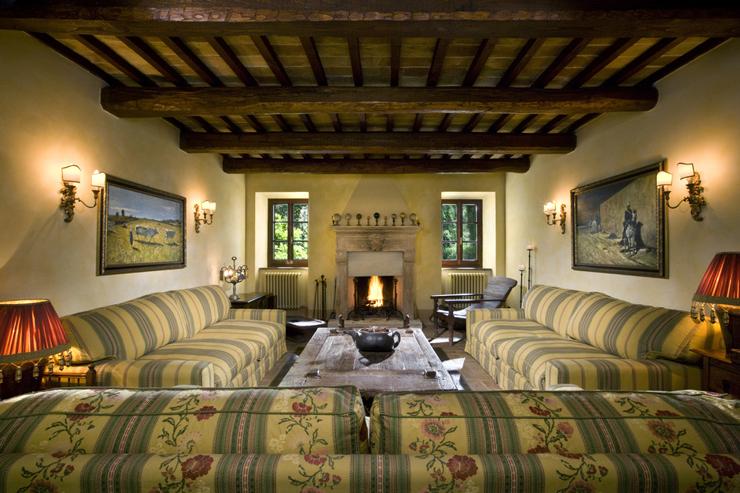 Interieur maison toscane for Agence de bouard la maison des voyages