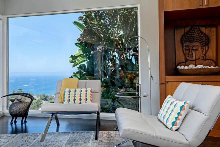 La Villa De Luxe Moderne Se Devoile : Jolie maison avec vue splendide sur l oc� an en californie vivons