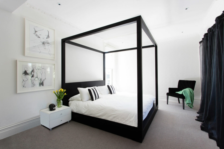 maison de ville au design int rieur luxe melbourne australie vivons maison. Black Bedroom Furniture Sets. Home Design Ideas