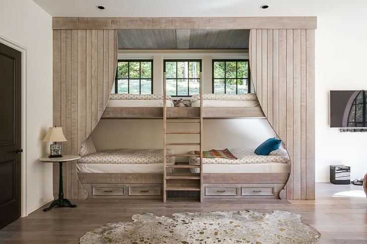 Adorable maison de charme dans l tat de tennessee vivons maison - Lits superposes bois massif ...
