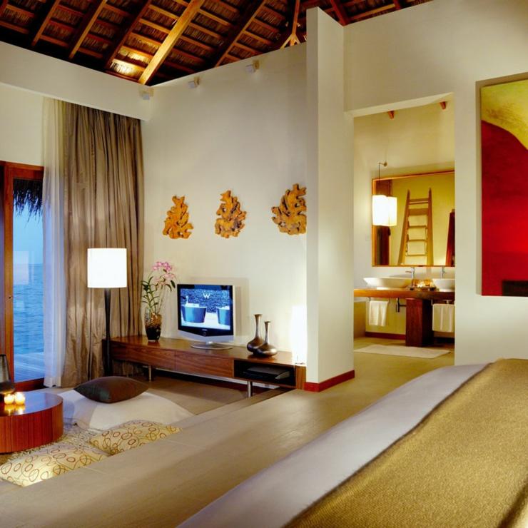 Vacances de luxe w retreat spa aux maldives vivons - Sejour evasion villa exotique keemala ...