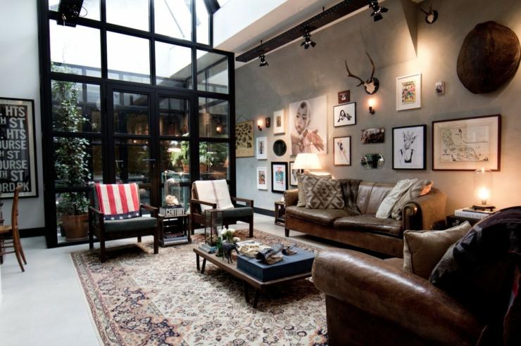 Loft aux touches très masculines à Amsterdam | Vivons maison