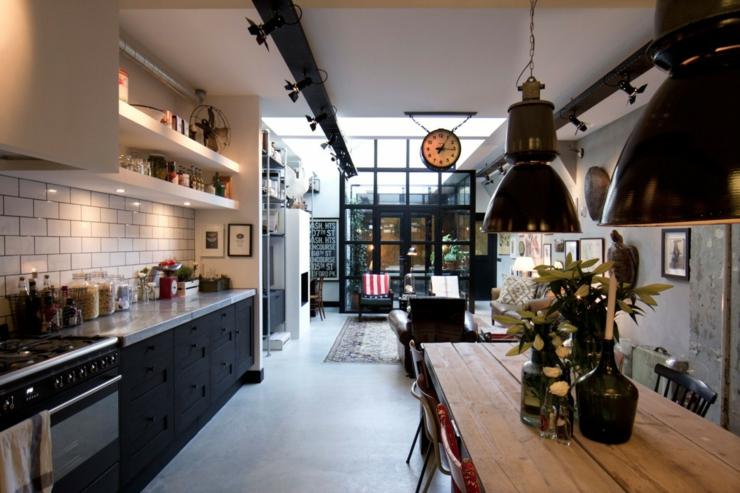 loft aux touches tr s masculines amsterdam vivons maison. Black Bedroom Furniture Sets. Home Design Ideas