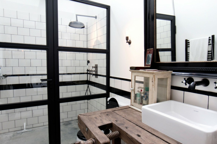 déco salle de bain loft - Salle De Bain Style Loft