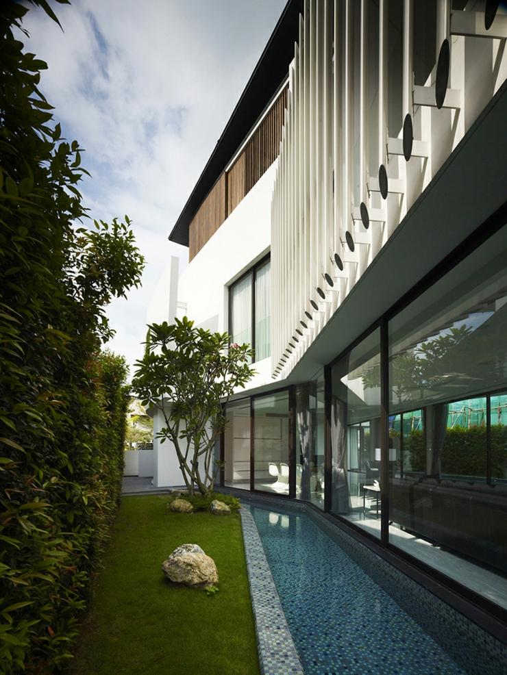Excellent Bibliothque Maison Les Couloirs Dueau Ou Les Jeux Aquatiques  Outdoor With Jeux D Architecte De Maison